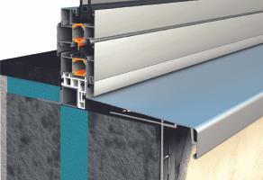 Glafuri si pervazuri pentru ferestre TeraGlass ofera un sistem de pervaz care asigură protecția împotriva apei de ploaie. Este disponibil într-o varietate de culori identice celor folosite pentru tâmplăria de aluminiu.