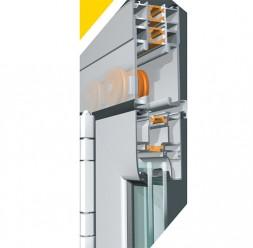 Sisteme de usi armonice pentru terase  TeraGlass