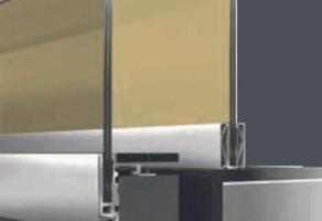 Sisteme de balustrade din sticla M8200 TeraGlass este un sistem de balustradă din sticlă, fără ramă, cu profil continuu la partea inferioară,ce oferă o vizibilitate sporită, dar și o senzație de libertate absolută.
