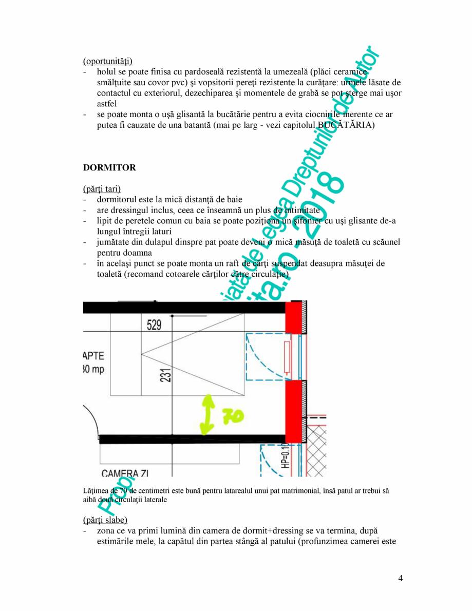 Pagina 4 - Exemplu analiza apartament Radunegoita.ro Ghid de arhitectură Romana sitoare...