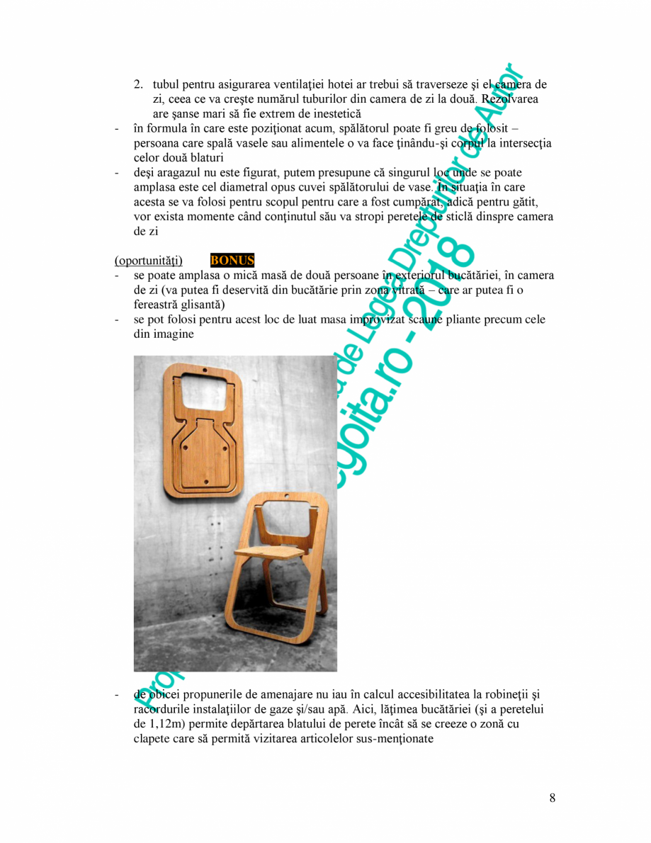 Pagina 8 - Exemplu analiza apartament Radunegoita.ro Ghid de arhitectură Romana şte), idem la...