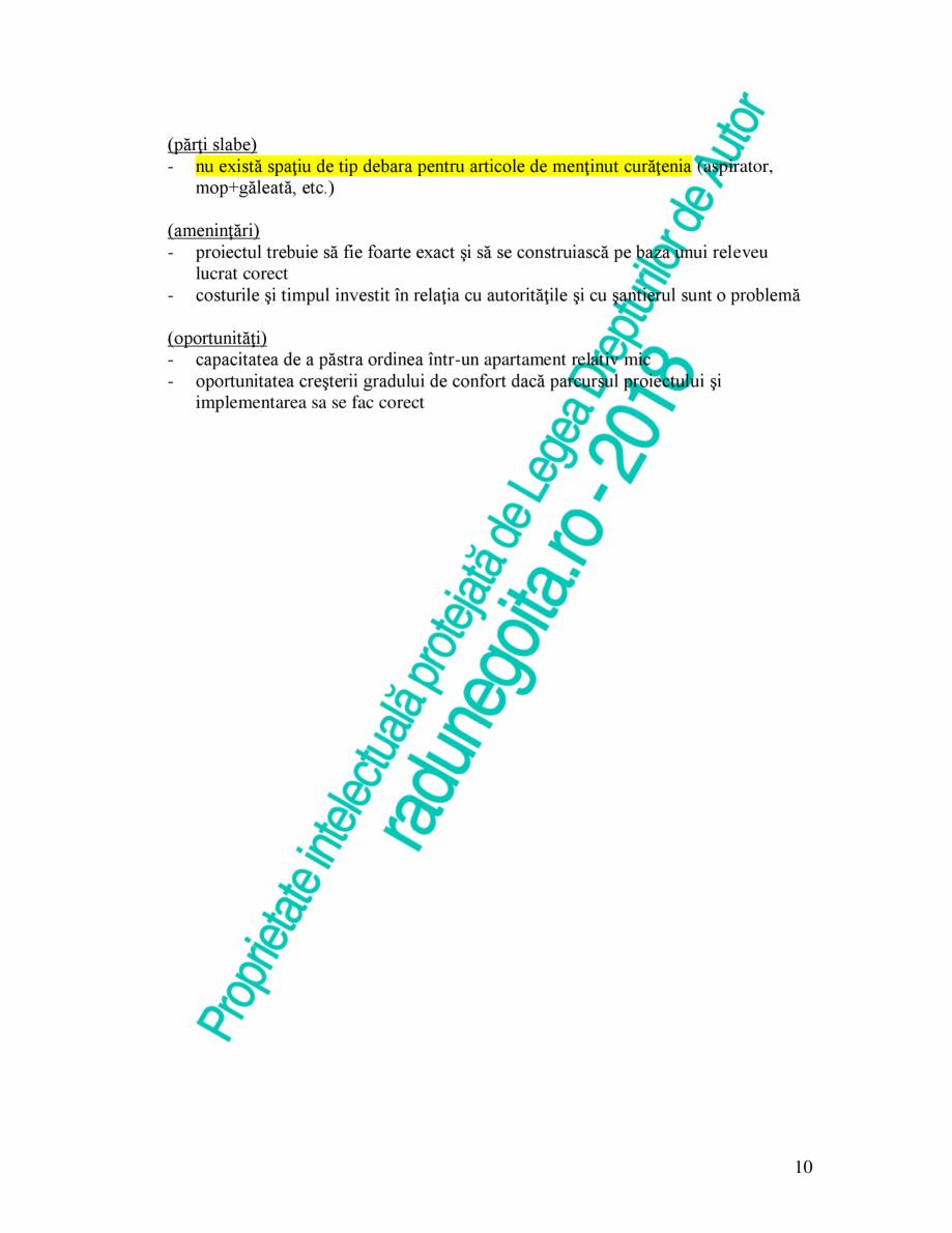 Pagina 10 - Exemplu analiza apartament Radunegoita.ro Ghid de arhitectură Romana v  (părţi slabe)...