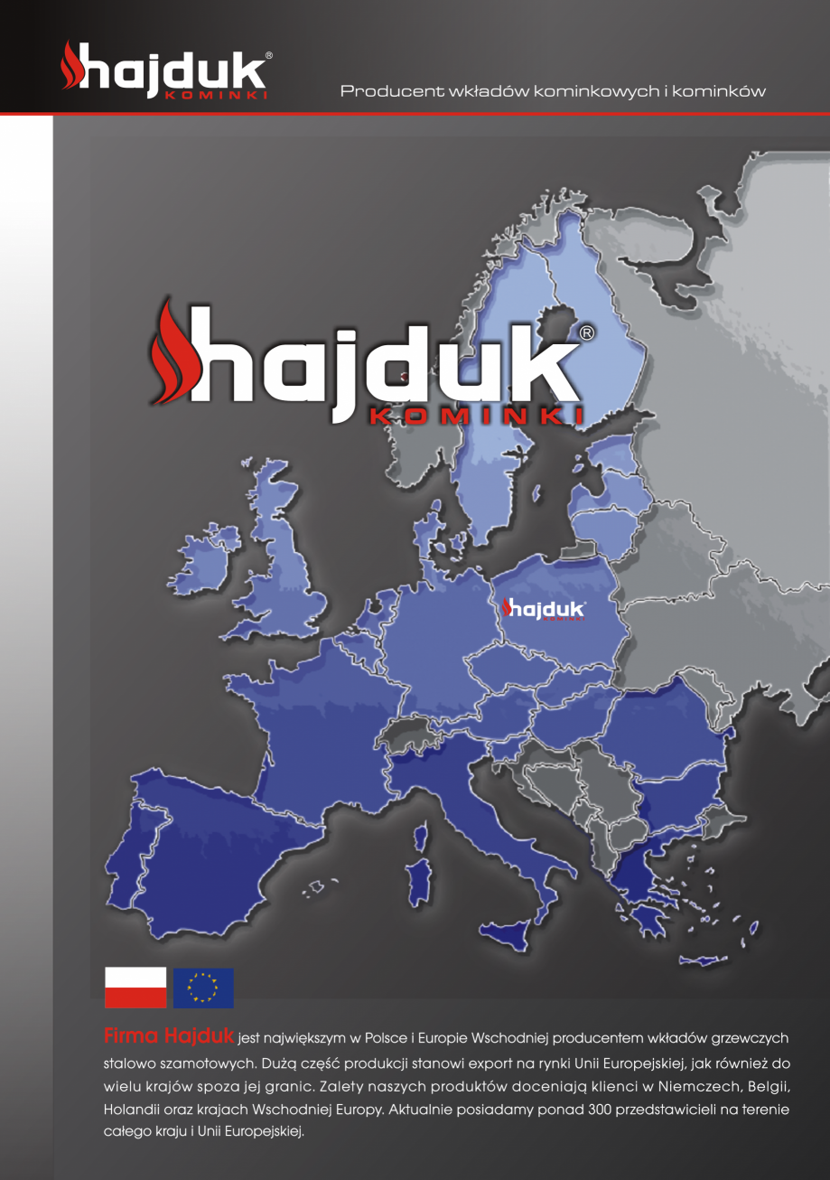 Pagina 2 - Seminee exclusiviste HAJDUK SEMINEE DEUS Catalog, brosura Poloneza