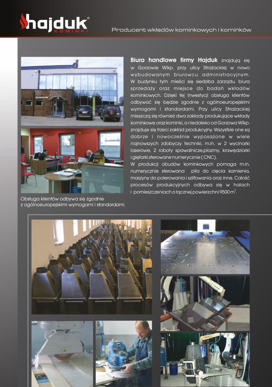 Pagina 4 - Seminee exclusiviste HAJDUK SEMINEE DEUS Catalog, brosura Poloneza