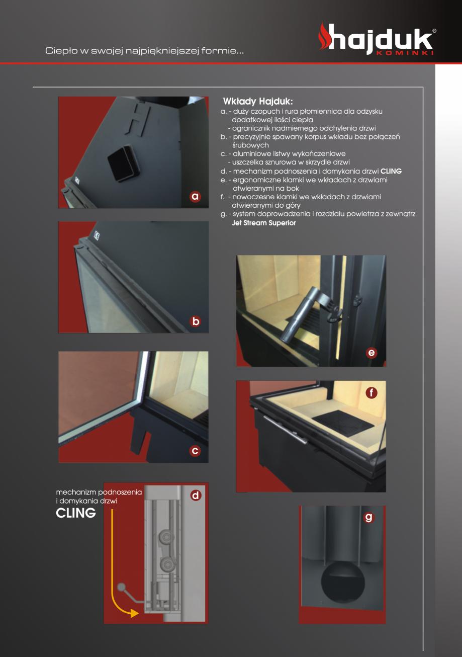 Pagina 5 - Seminee exclusiviste HAJDUK SEMINEE DEUS Catalog, brosura Poloneza