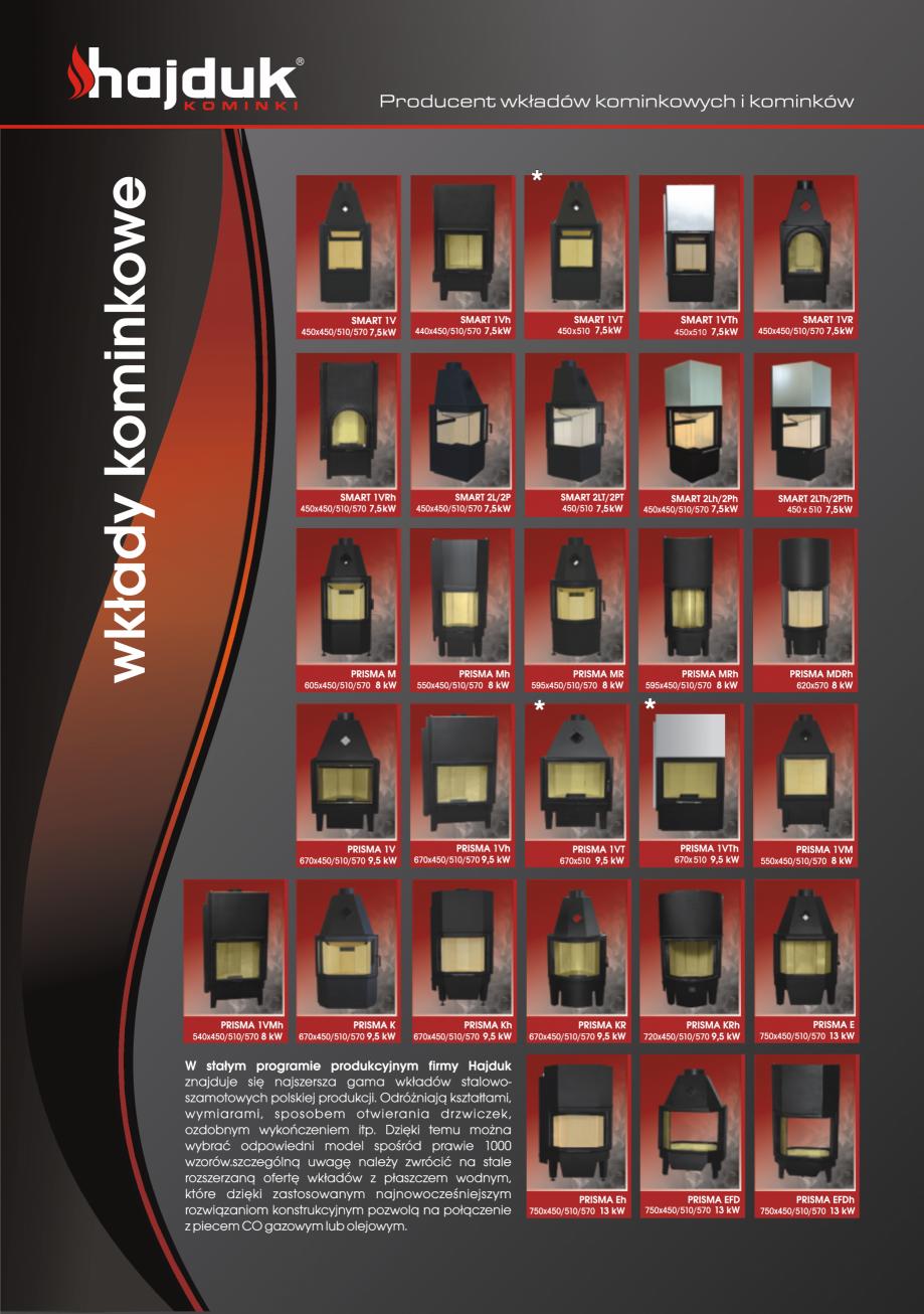 Pagina 6 - Seminee exclusiviste HAJDUK SEMINEE DEUS Catalog, brosura Poloneza