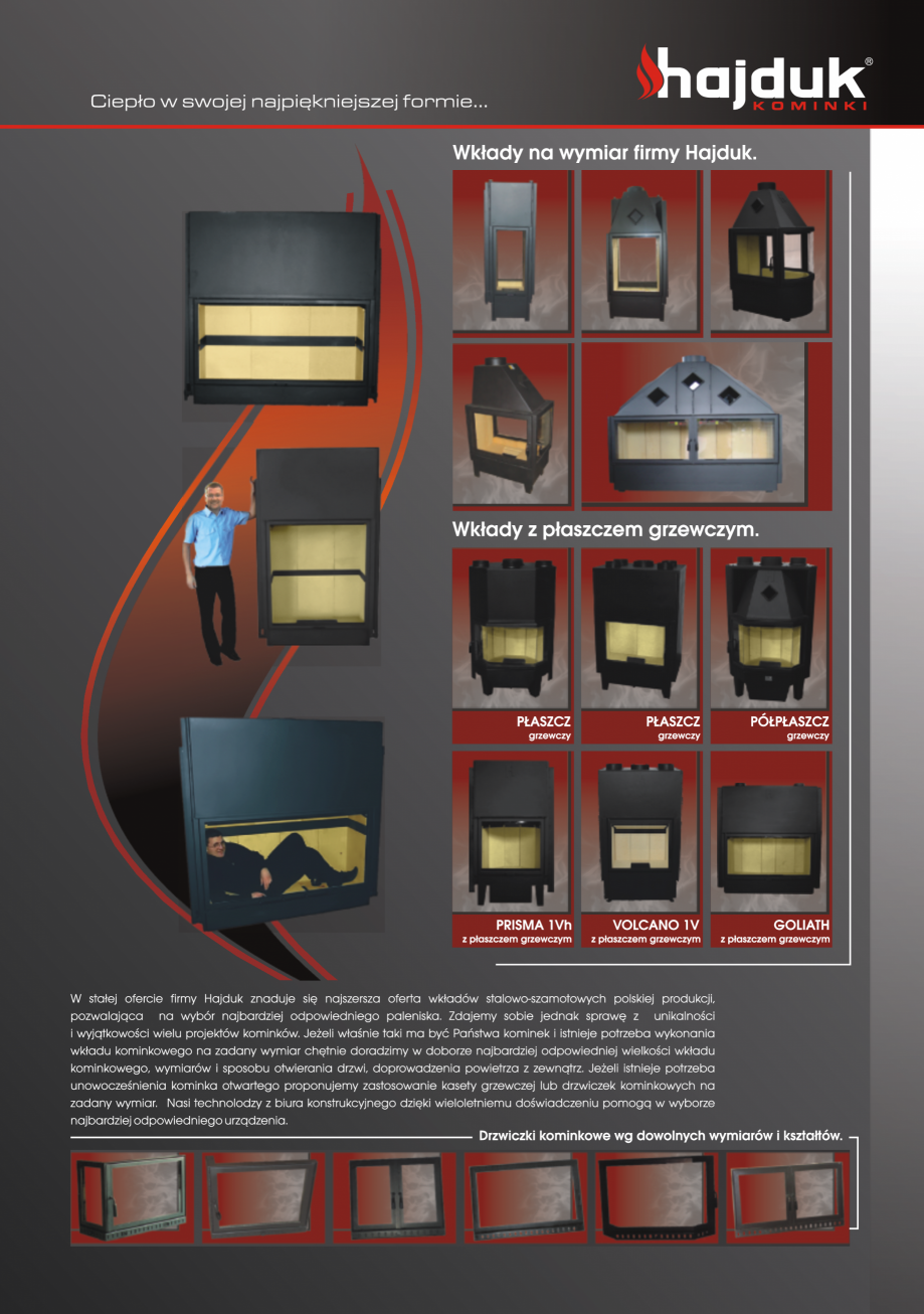 Pagina 9 - Seminee exclusiviste HAJDUK SEMINEE DEUS Catalog, brosura Poloneza