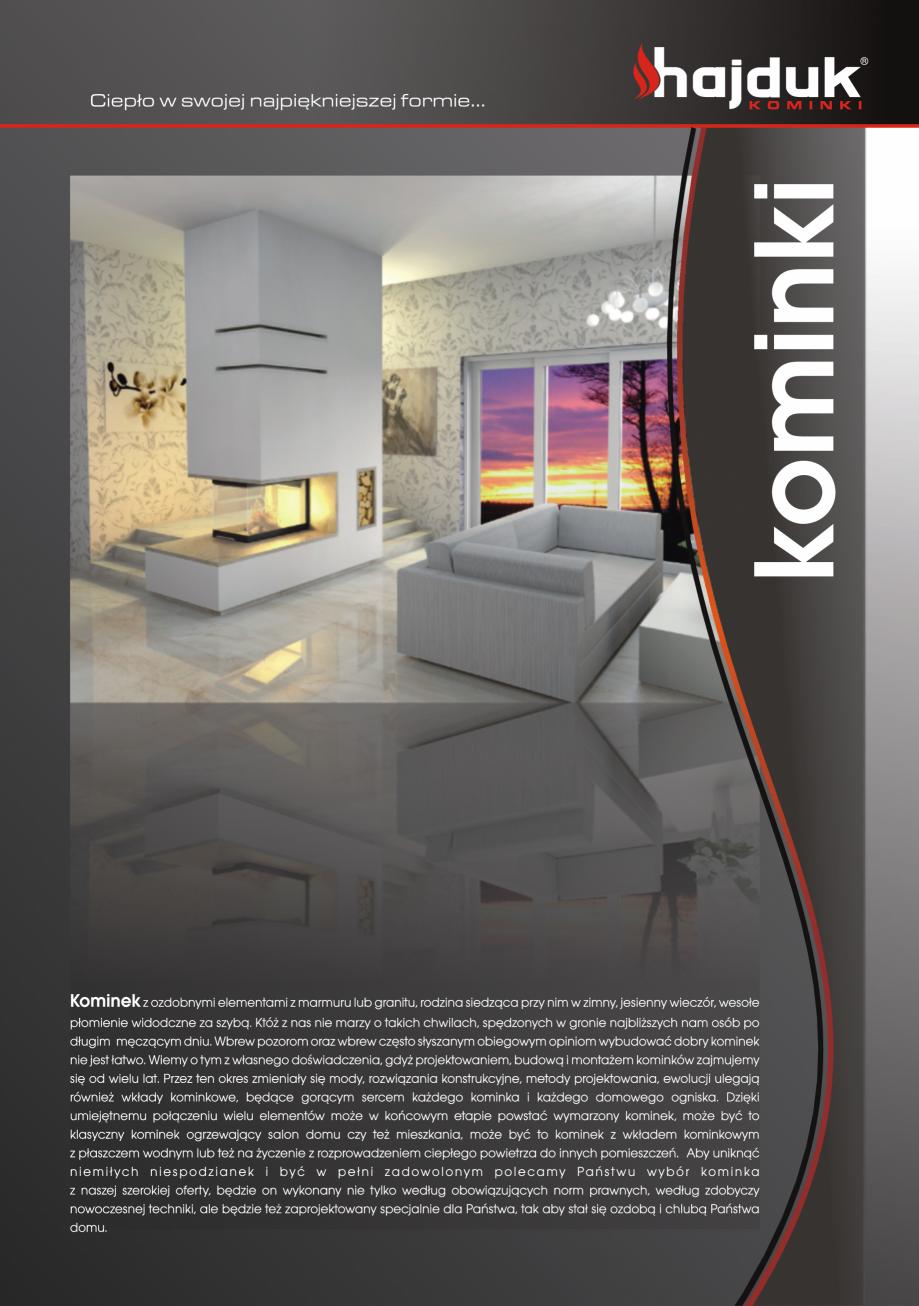 Pagina 11 - Seminee exclusiviste HAJDUK SEMINEE DEUS Catalog, brosura Poloneza