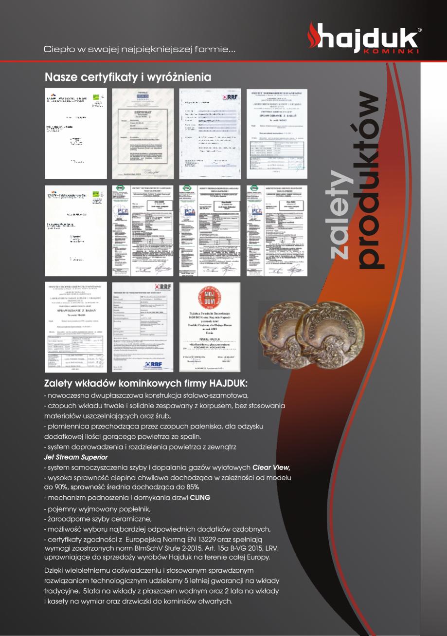 Pagina 31 - Seminee exclusiviste HAJDUK SEMINEE DEUS Catalog, brosura Poloneza