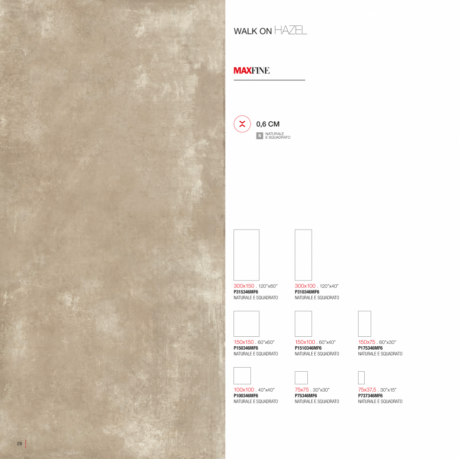 Pagina 30 - Catalog gresie 2 cm - colectia WALK ON LastreCeramice.ro Catalog, brosura Engleza,...