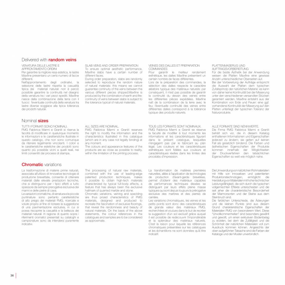 Pagina 38 - Catalog gresie 2 cm - colectia WALK ON LastreCeramice.ro Catalog, brosura Engleza,...