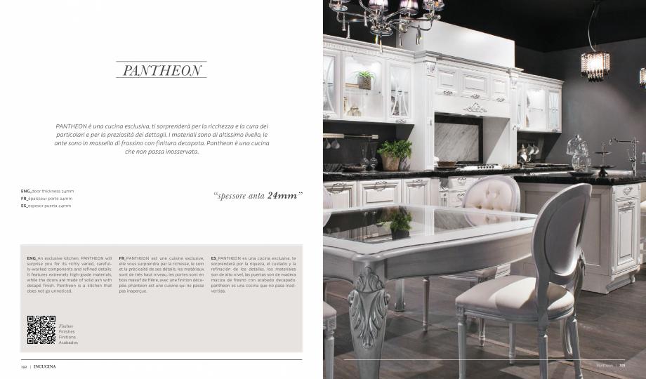 Pagina 1 - Prezentare bucatarie  MOBILA VOGUE Pantheon Catalog, brosura Italiana, Engleza, Franceza,...