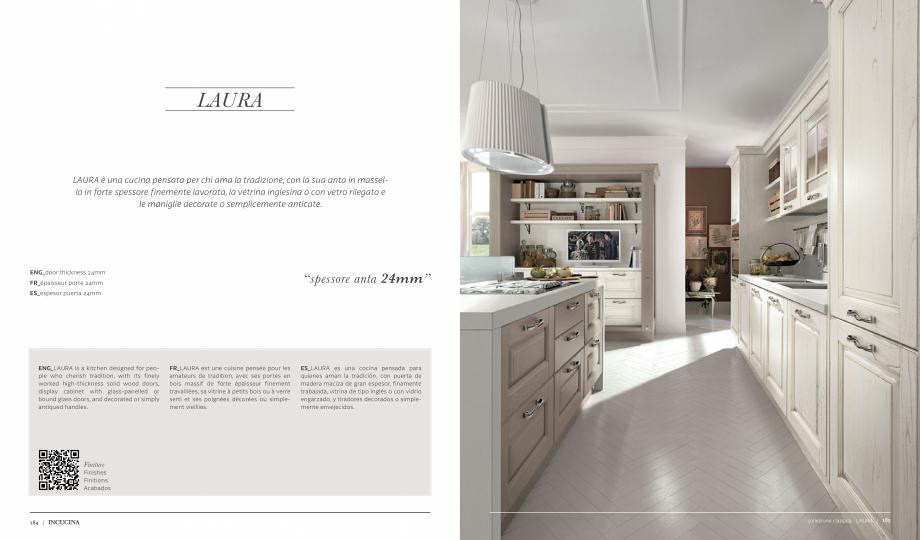 Pagina 1 - Prezentare bucatarie  MOBILA VOGUE Laura Catalog, brosura Italiana, Engleza, Franceza,...