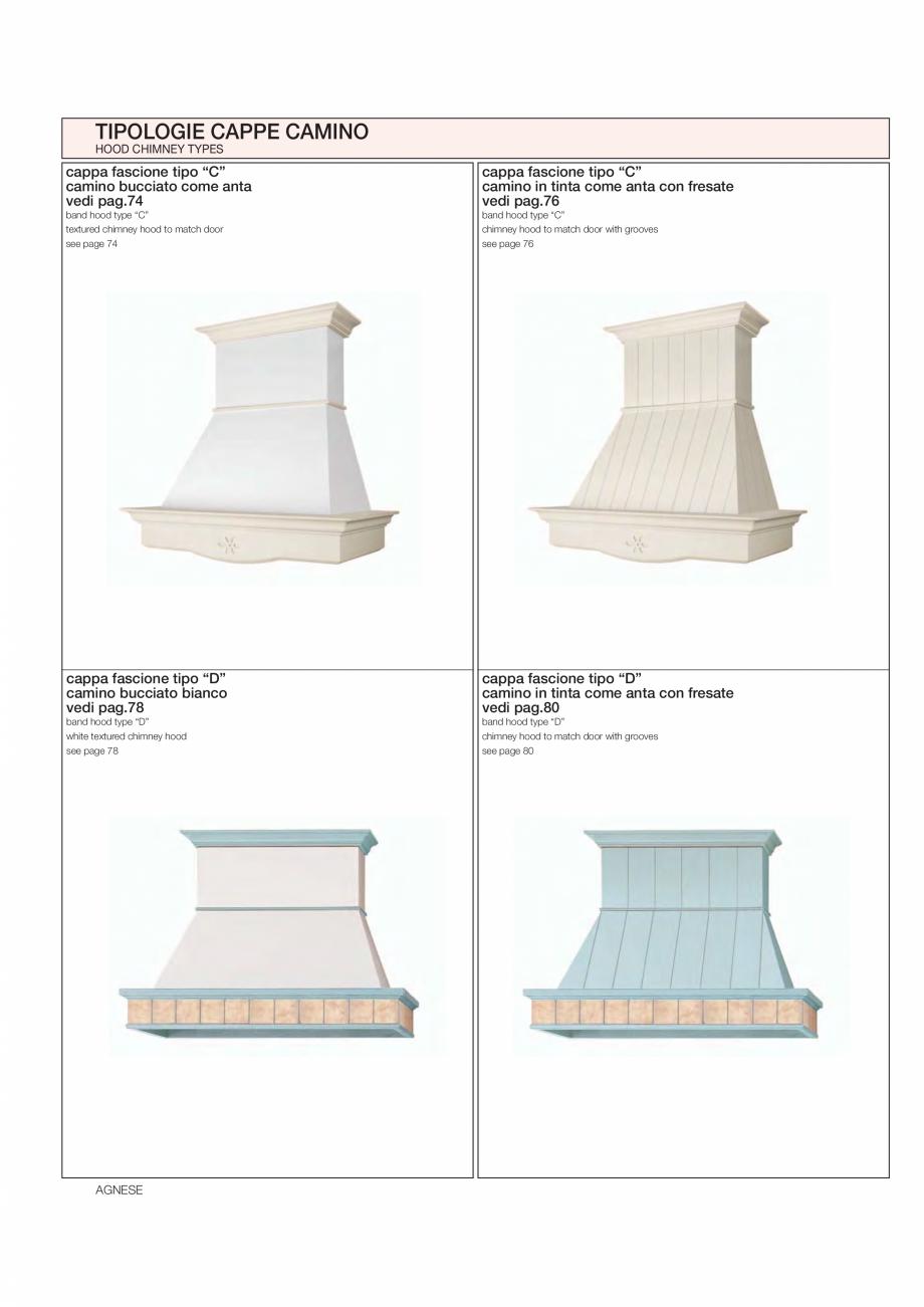 Pagina 22 - Bucataria Agnese - caracteristici tehnice MOBILA VOGUE Fisa tehnica Italiana, Engleza...