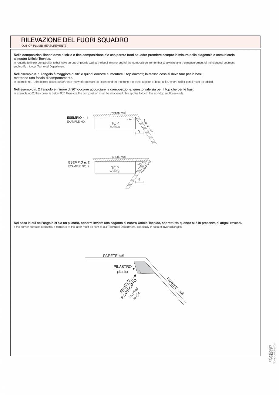 Pagina 27 - Bucataria Agnese - caracteristici tehnice MOBILA VOGUE Fisa tehnica Italiana, Engleza ...