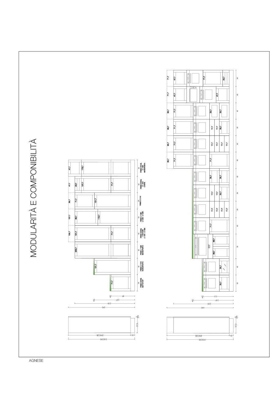 Pagina 35 - Bucataria Agnese - caracteristici tehnice MOBILA VOGUE Fisa tehnica Italiana, Engleza l ...