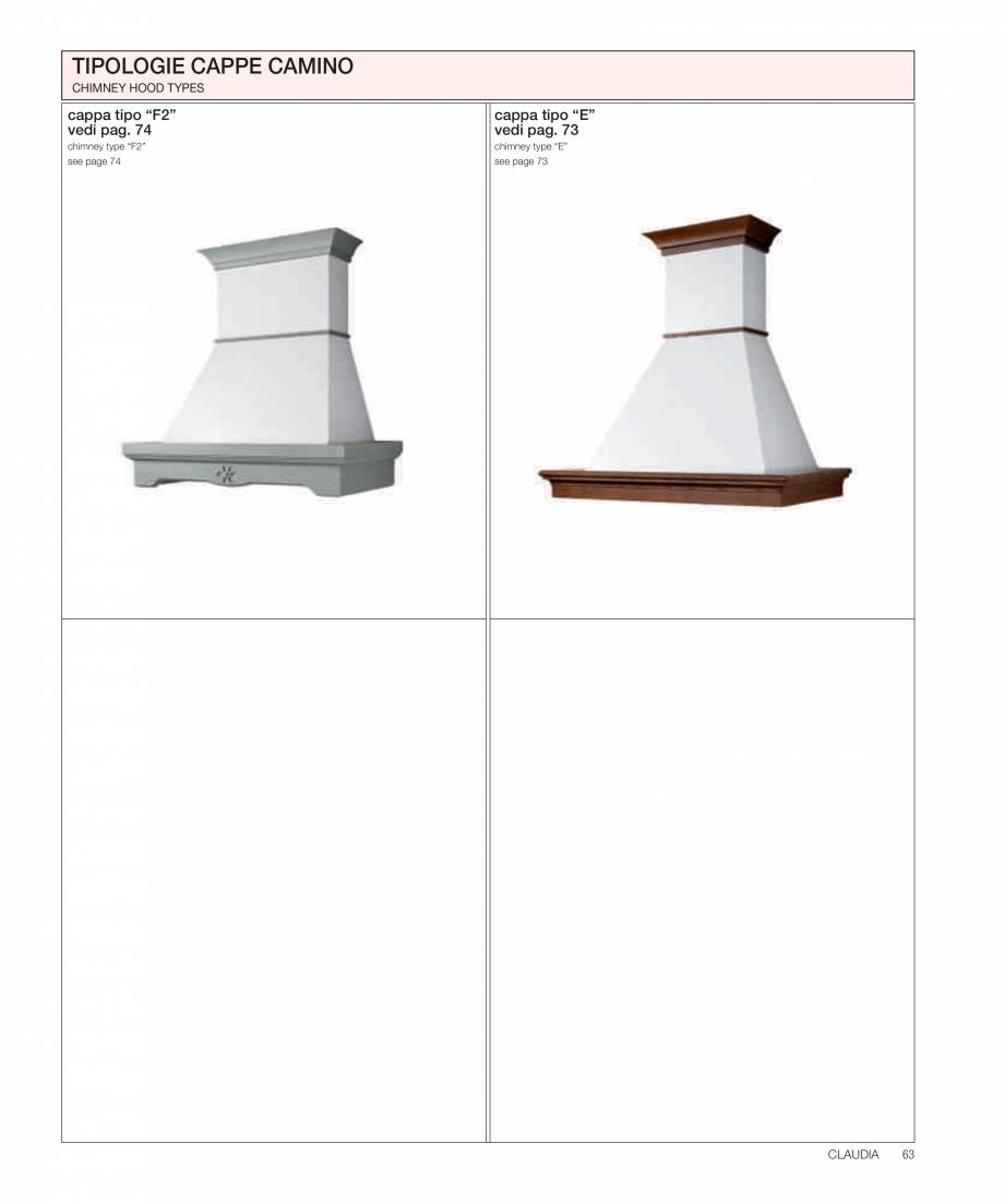 Pagina 24 - Bucataria Claudia - caracteristici tehnice MOBILA VOGUE Fisa tehnica Italiana, Engleza  ...