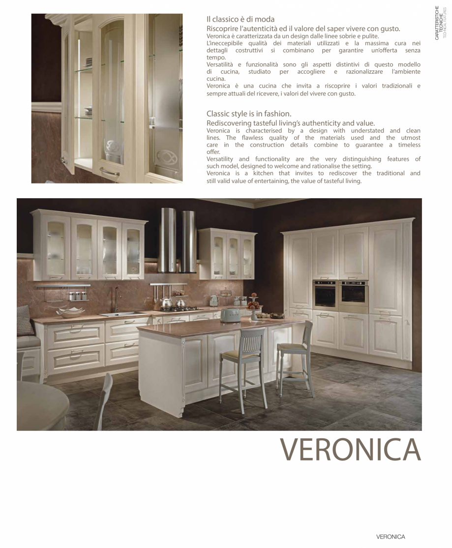 Pagina 1 - Bucatarie Veronica - caracteristici tehnice MOBILA VOGUE Fisa tehnica Italiana, Engleza...