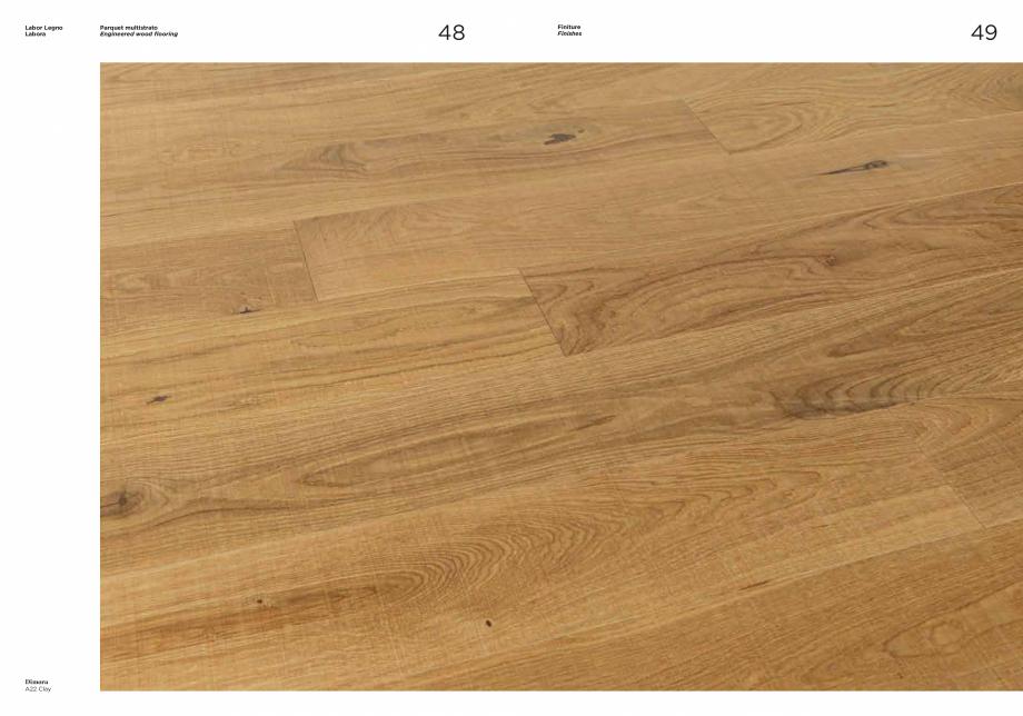 Pagina 2 - Prezentare parchet multistrat  stejar MOBILA VOGUE Dimora Catalog, brosura Engleza,...