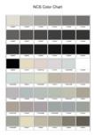 Ferestre din lemn masiv stratificat - NCS Color Chart SM WOOD PRODCOM