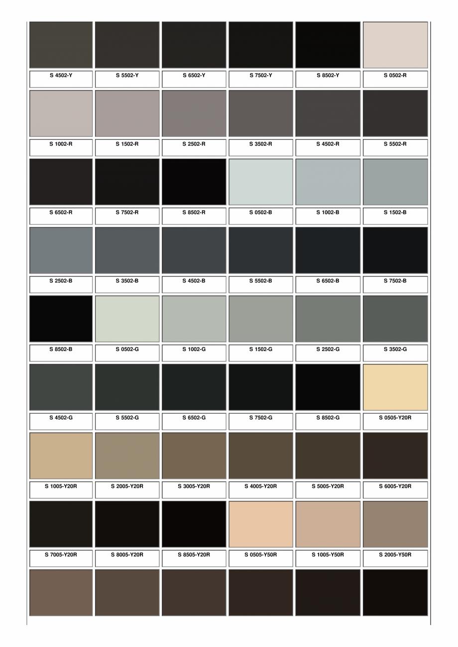 Pagina 2 - Ferestre din lemn masiv stratificat - NCS Color Chart SM WOOD PRODCOM Fisa tehnica Romana...