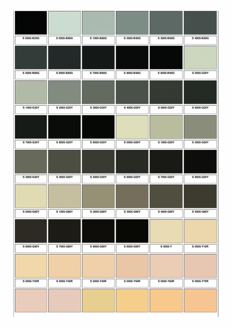 Pagina 4 - Ferestre din lemn masiv stratificat - NCS Color Chart SM WOOD PRODCOM Fisa tehnica Romana...