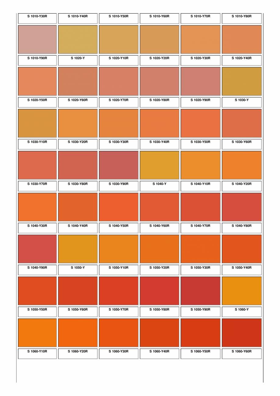 Pagina 7 - Ferestre din lemn masiv stratificat - NCS Color Chart SM WOOD PRODCOM Fisa tehnica Romana...