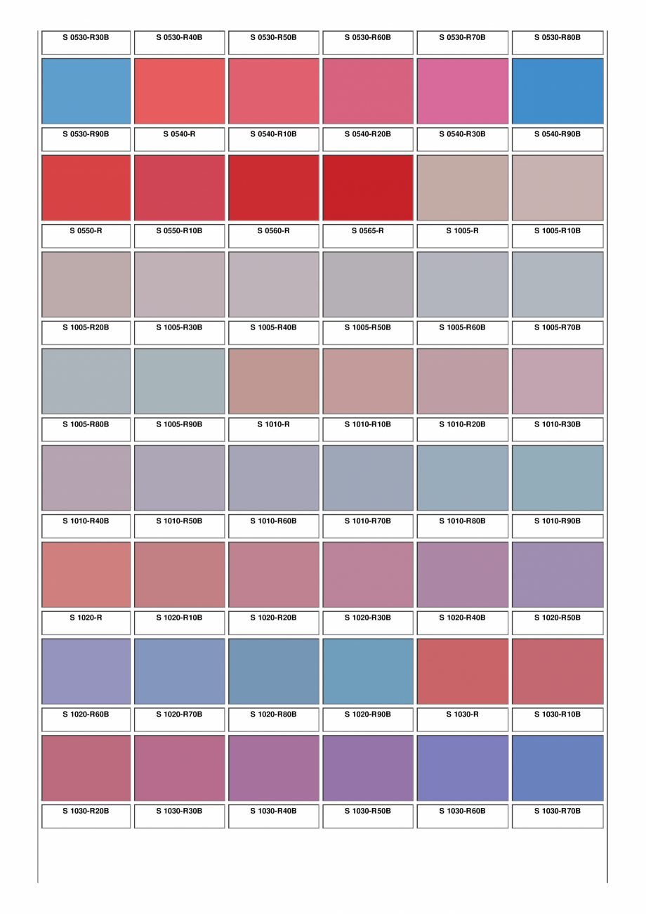 Pagina 15 - Ferestre din lemn masiv stratificat - NCS Color Chart SM WOOD PRODCOM Fisa tehnica...