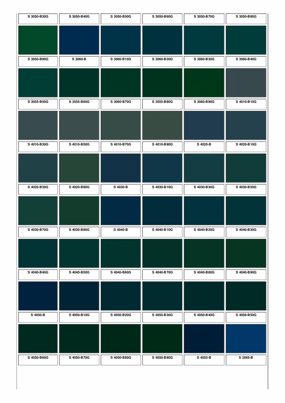 Pagina 25 - Ferestre din lemn masiv stratificat - NCS Color Chart SM WOOD PRODCOM Fisa tehnica...