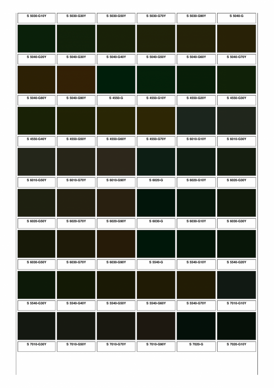 Pagina 35 - Ferestre din lemn masiv stratificat - NCS Color Chart SM WOOD PRODCOM Fisa tehnica...
