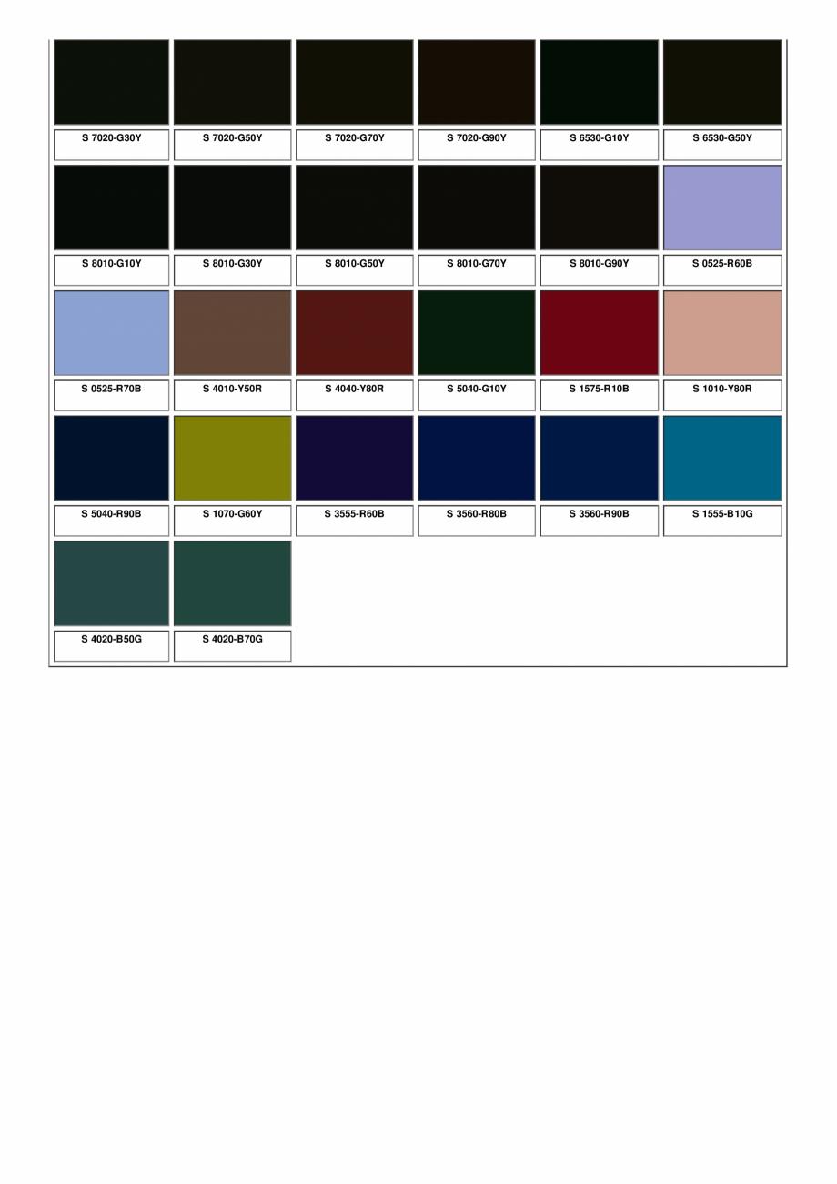 Pagina 36 - Ferestre din lemn masiv stratificat - NCS Color Chart SM WOOD PRODCOM Fisa tehnica...