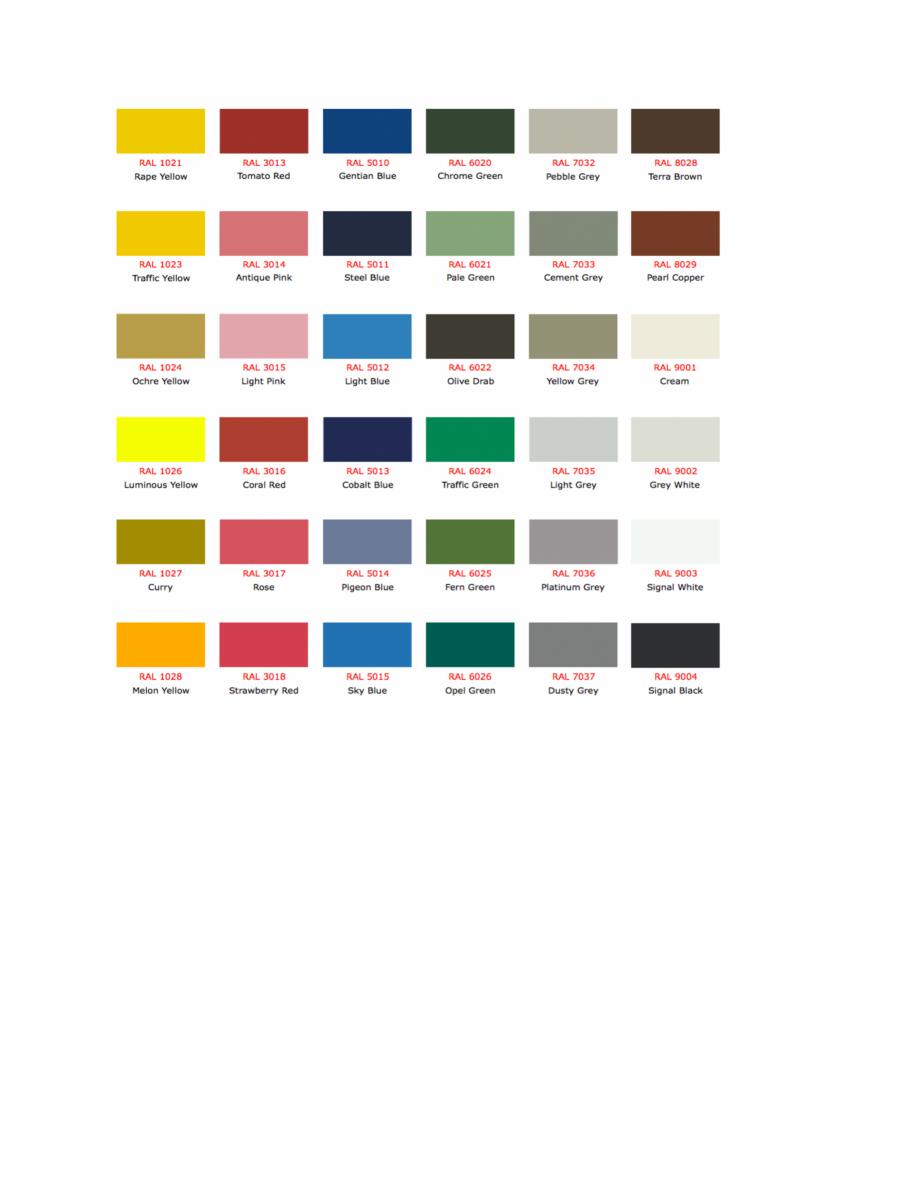 Pagina 4 - Culori RAL pentru ferestre din lemn masiv stratificat SM WOOD PRODCOM Fisa tehnica Romana...
