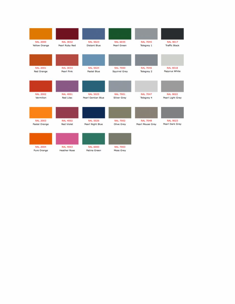 Pagina 6 - Culori RAL pentru ferestre din lemn masiv stratificat SM WOOD PRODCOM Fisa tehnica Romana...