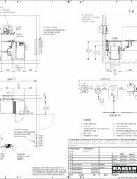 Compresoare cu surub cu transmisie prin curea - Exemple pentru planuri de amplasare la seria SX