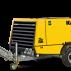 Compresor mobil pentru construcţii M123 Pachete de putere până la 23,3 m³/min (825 cfm)
