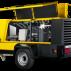 Compresor mobil pentru construcţii M135  Pachete de putere până la 23,3 m³/min (825 cfm)
