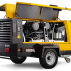 Compresor mobil pentru construcţii M171  Pachete de putere până la 23,3 m³/min (825 cfm)