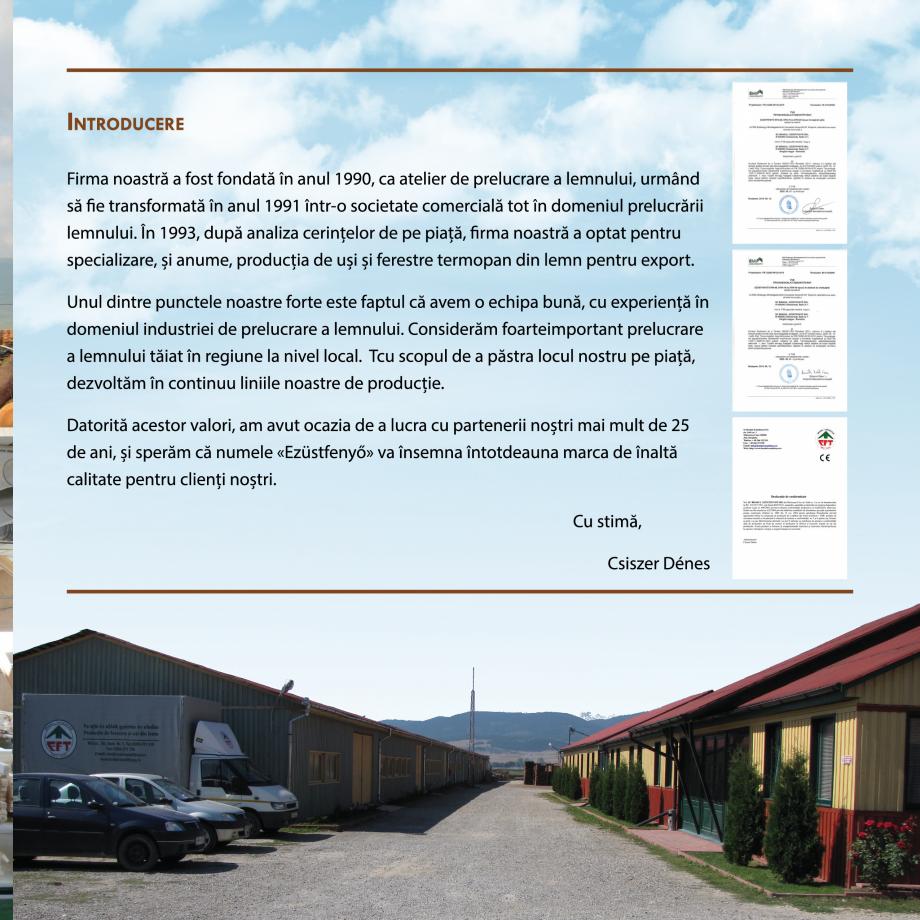 Pagina 3 - Fabricarea ferestrelor din lemn stratificat ACTUAL GROUP 70 mm, 78 mm, 70-78-90 mm, 90 mm...