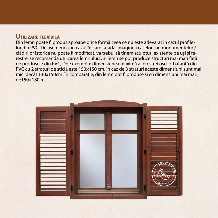 Pagina 5 - Fabricarea ferestrelor din lemn stratificat ACTUAL GROUP 70 mm, 78 mm, 70-78-90 mm, 90 mm...