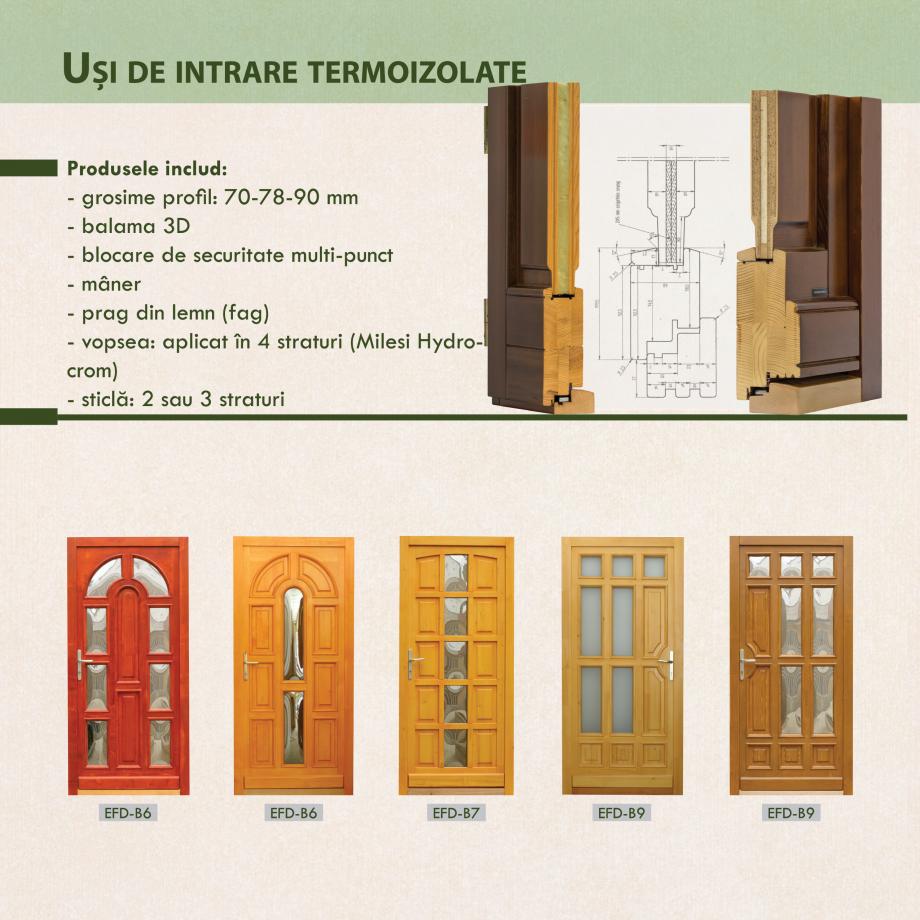 Pagina 8 - Fabricarea ferestrelor din lemn stratificat ACTUAL GROUP 70 mm, 78 mm, 70-78-90 mm, 90 mm...
