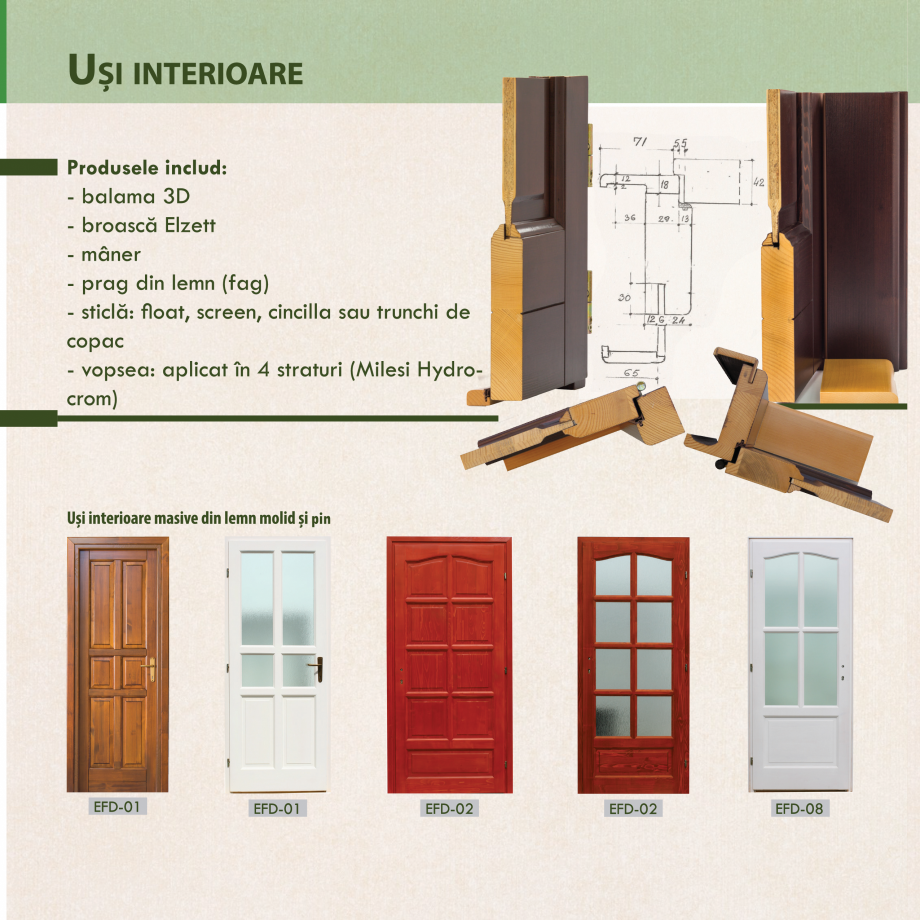 Pagina 12 - Fabricarea ferestrelor din lemn stratificat ACTUAL GROUP 70 mm, 78 mm, 70-78-90 mm, 90...