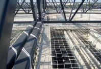 Plase de protectie anticadere pentru constructii