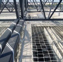 Plase de protectie anticadere pentru constructii Romnets
