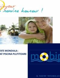 MOBIPOOL piscina plutitoare, exclusiv prin DESJOYAUX PISCINE