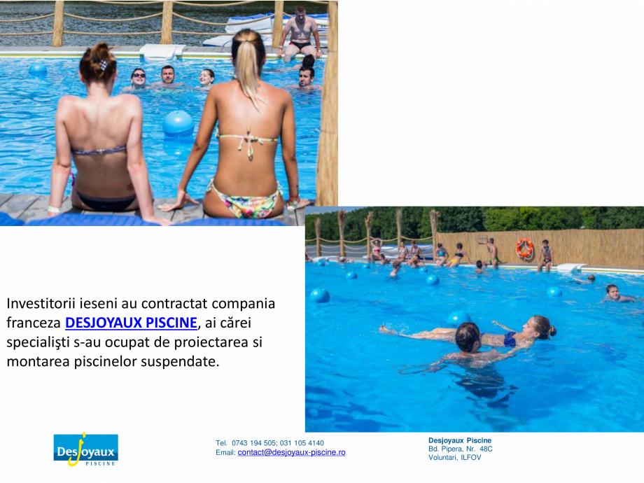 Pagina 9 - MOBIPOOL piscina plutitoare, exclusiv prin DESJOYAUX PISCINE  Catalog, brosura Romana