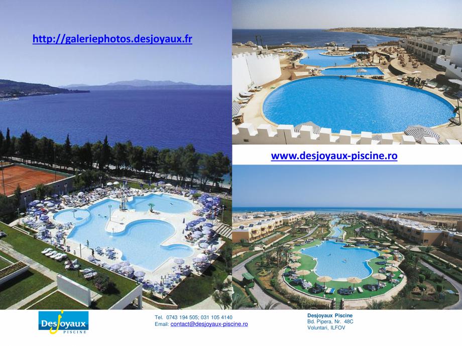 Pagina 11 - MOBIPOOL piscina plutitoare, exclusiv prin DESJOYAUX PISCINE  Catalog, brosura Romana