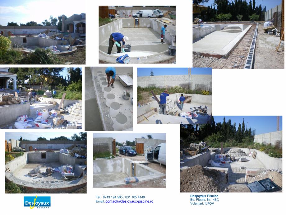 Pagina 4 - Construirea piscinei publice DESJOYAUX Catalog, brosura Romana