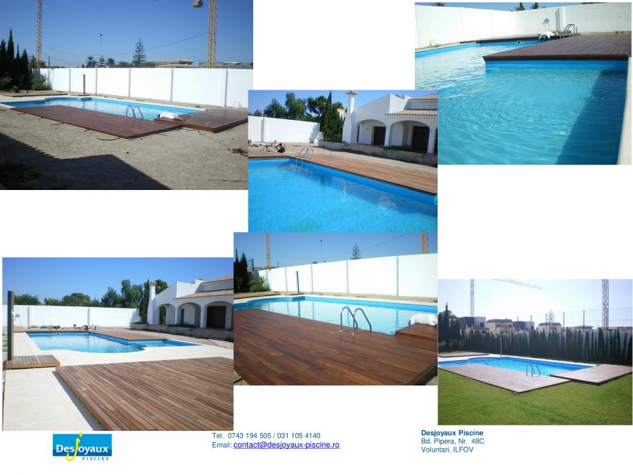 Pagina 6 - Construirea piscinei publice DESJOYAUX Catalog, brosura Romana