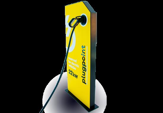 Statii de incarcare vehicule electrice Plugpoint