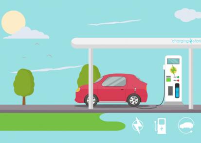 Statii de incarcare masini si vehicule electrice Evita